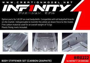 Infinity 1/8 BODY STIFFENER SET