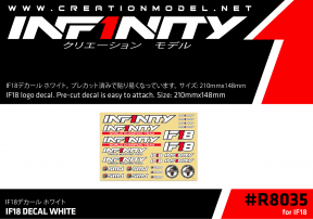 IF18 DECAL WHITE