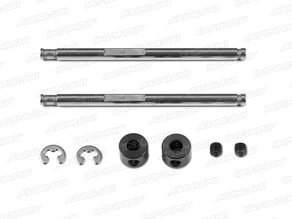IF15 - FRONT UPPER SUS SHAFT(E-RING TYPE)