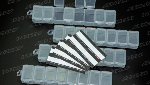 INFINITY SMALL PARTS CASE (8 Compartments/4pcs)
