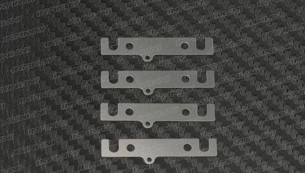 LOWER SUSPENSION BLOCK SPACER 0.2mm (SUS/4pcs)