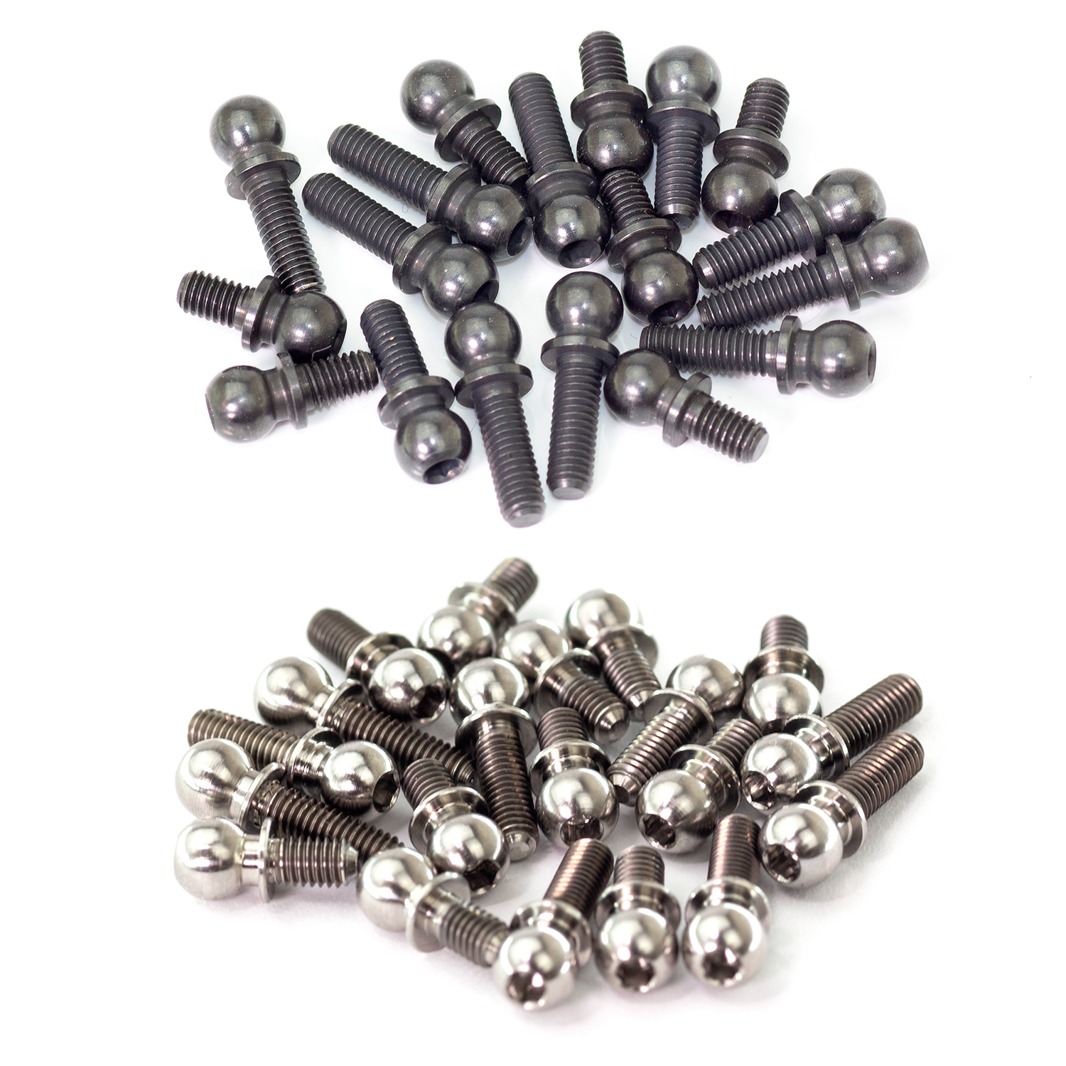 HIGH PRECISION AND HEAVY DUTY STEEL 4.9MM BALL END